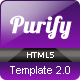 Purify - One Page Responsive Template - ThemeForest Item for Sale