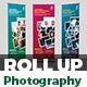 Photo Studio Flyer Roll-Up Banner