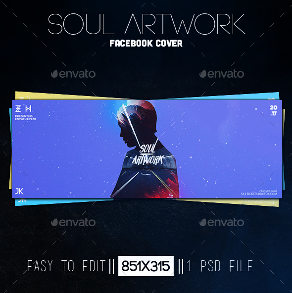 Soul Artwork Facebook Cover - Facebook Timeline Covers Social Media