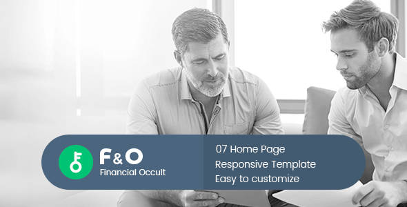 F&O - Consultant Finance HTML Templates - Corporate Site Templates