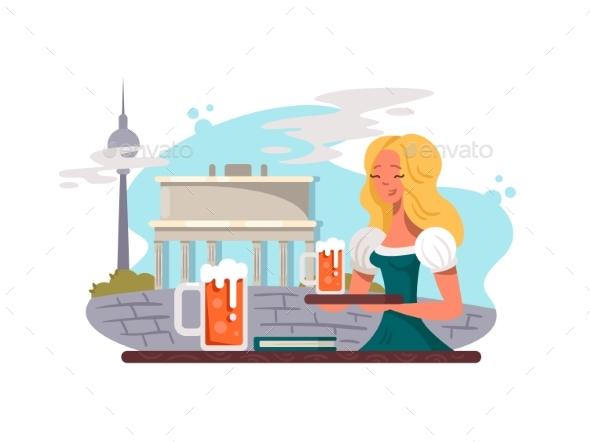 Berlin Capital of Germany - Buildings Objects