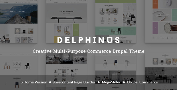 Delphinus - Commerce Drupal Theme - Shopping Retail