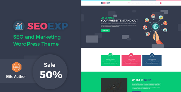 Seoexp - Marketing & SEO WordPress Theme - Marketing Corporate