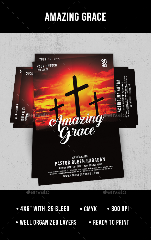 Grace - Flyer - Church Flyers