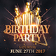 Classy Birthday Party   Flyer Templates - GraphicRiver Item for Sale
