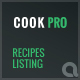 Cook Pro - Recipe Listing WordPress Plugin - CodeCanyon Item for Sale