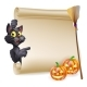 Halloween Scroll Sign