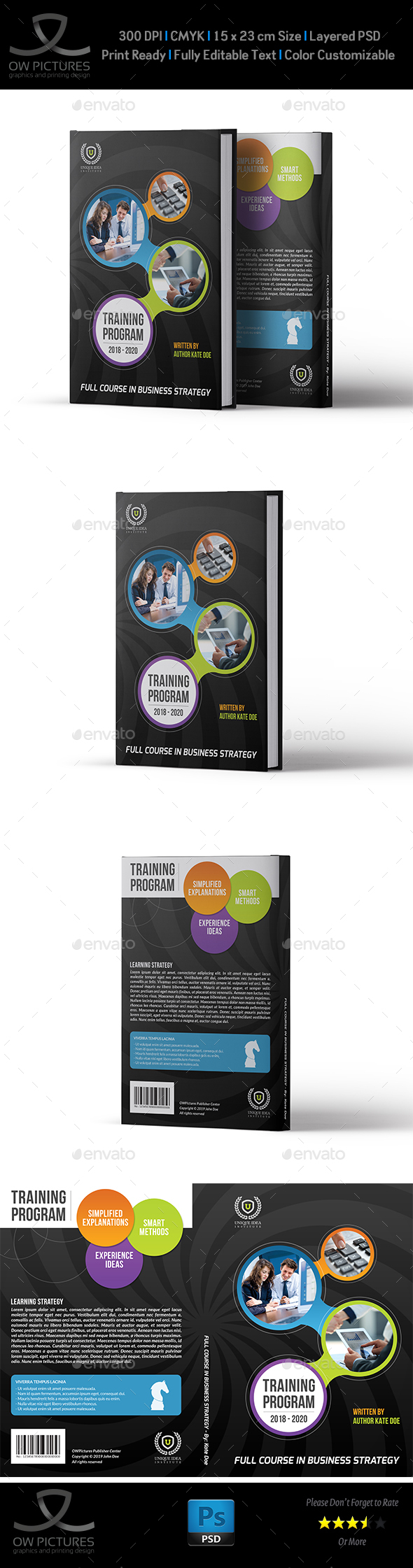 Book Cover Template Vol.2 - Miscellaneous Print Templates