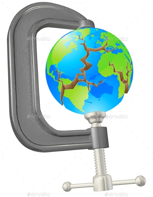 Clamp Cracking Globe Concept - Miscellaneous Conceptual