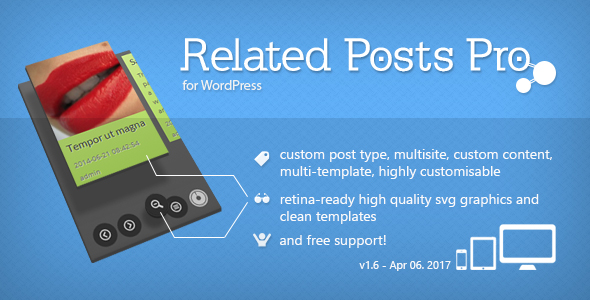 Related Posts Pro for WordPress - Related Content Plugin - CodeCanyon Item for Sale