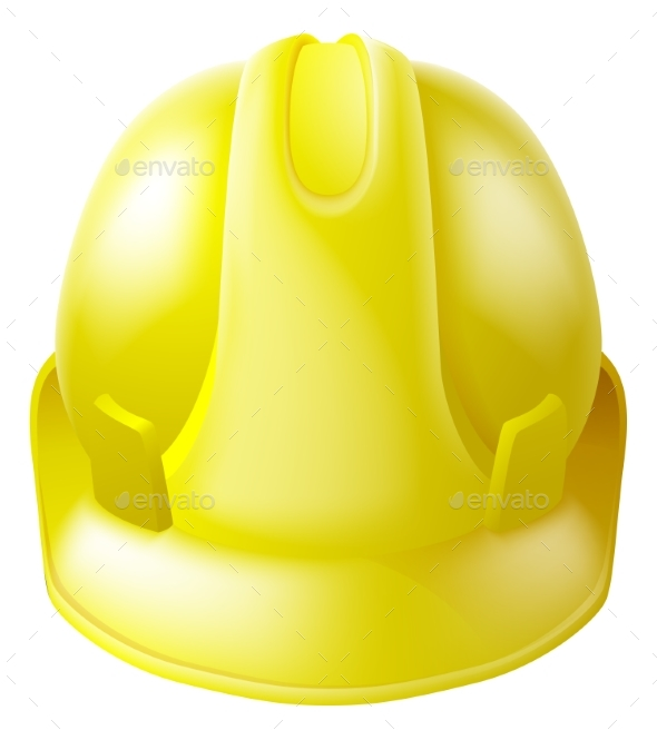 Yellow Hard Hat Safety Helmet - Man-made Objects Objects