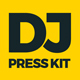 MoveDJ - DJ Press Kit / DJ Resume / DJ Rider PSD Template - GraphicRiver Item for Sale