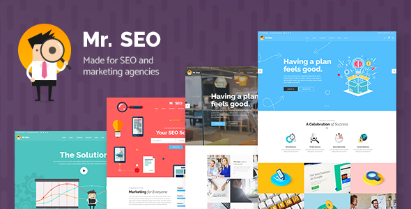 Mr. SEO - A Friendly SEO, Marketing Agency, and Social Media Theme