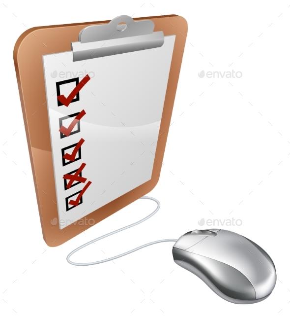 Online Internet Survey Mouse - Computers Technology