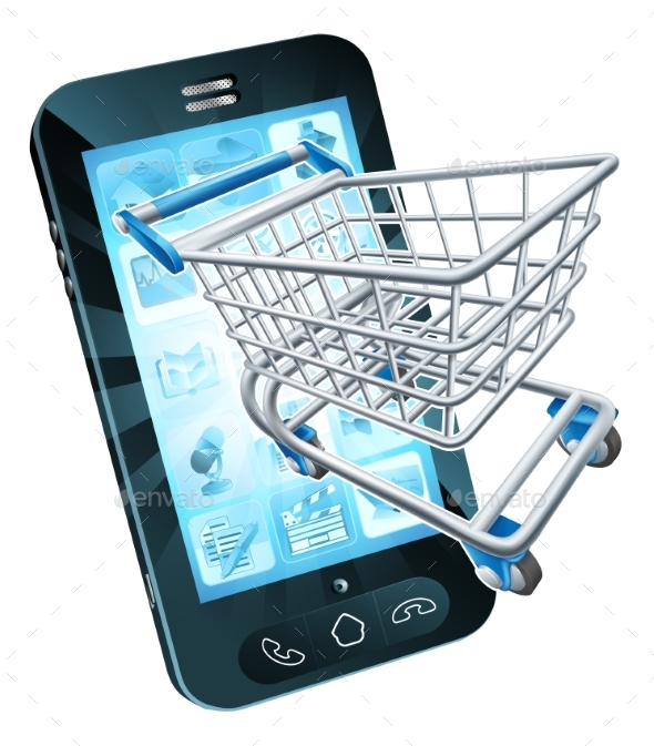 Shopping Cart Mobile Phone - Web Technology