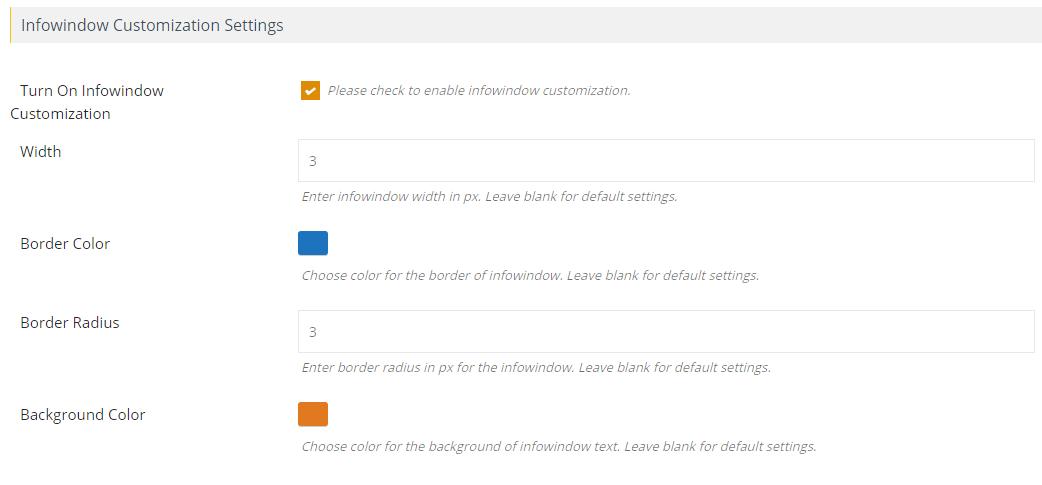Map New Screenshots Infowindow Customization Png