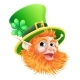 St Patricks Day Leprechaun Face