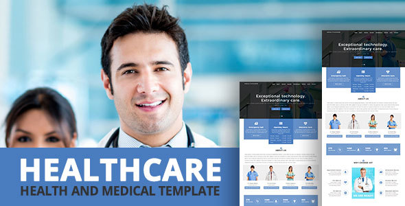 HEALTHCARE - Health and Medical Template