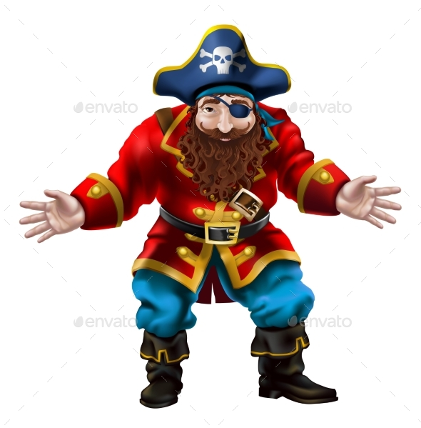 Pirate the Jolly Sailor - People Characters