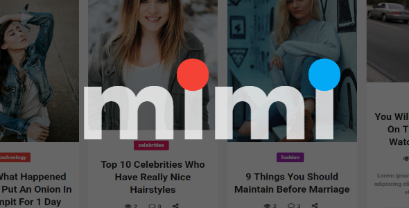 Mimi | Viral Blog Magazine with Frontend Submission