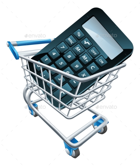 Calculator Trolley Concept - Concepts Business