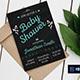 Chalkboard Shower Invitation Template - GraphicRiver Item for Sale