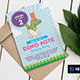 Dino-Mite Birthday Party Invitation/Flyer - GraphicRiver Item for Sale