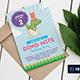 Dino-Mite Birthday Party Invitation/Flyer - GraphicRiver Item for Sale