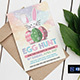 Easter Egg Hunt Party Invitation/Flyer - GraphicRiver Item for Sale