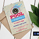 Pool Party Invitation/Flyer - GraphicRiver Item for Sale
