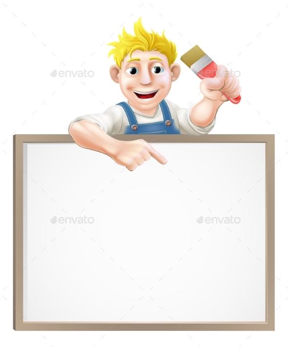 Painter Decorator Sign - Miscellaneous Vectors