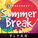 Summer Break - Flyer Template - GraphicRiver Item for Sale
