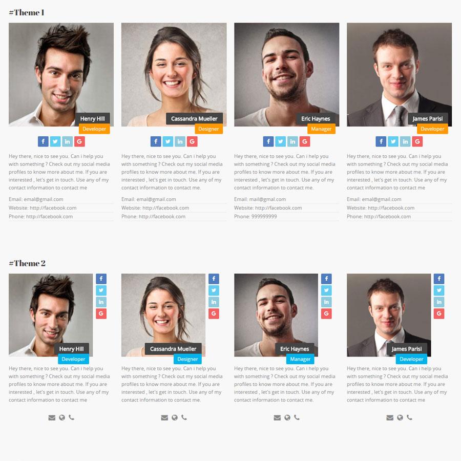 JAG Interactive Team Members WordPress Plugin