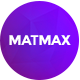 Matmax App Landing Page - ThemeForest Item for Sale