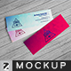 Realistic Micro Business Card Mockup - GraphicRiver Item for Sale