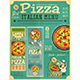 Pizza Italian Menu - GraphicRiver Item for Sale