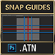 Snap Guides Photoshop Actions - Create Center & Rule of Thirds Guides with one click - GraphicRiver Item for Sale