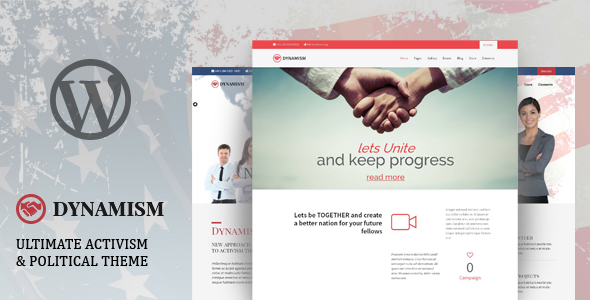 Image of Dynamism - Political & Activism WP Theme