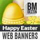 Easter Web Banner - GraphicRiver Item for Sale