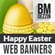 Easter Web Banner - GraphicRiver Item for Sale