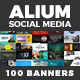 ALIUM Social Media Pack - GraphicRiver Item for Sale