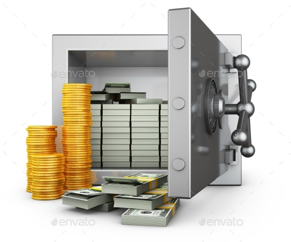 Safe with Dollars - Graphics