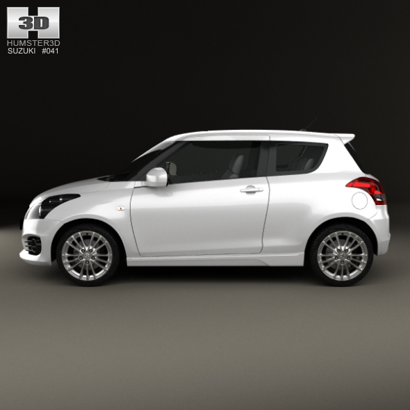Suzuki Swift Sport hatchback 3-door 2014 by humster3d | 3DOcean