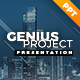 Genius Project Presentation Template - GraphicRiver Item for Sale