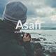 Asafi - Minimal Google Slide Template - GraphicRiver Item for Sale