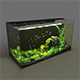 Aquarium rectangle 120l - 3DOcean Item for Sale