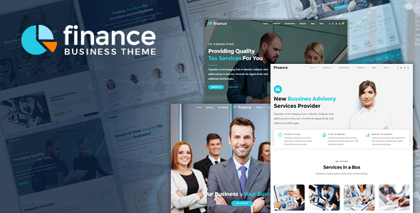 22+ Best Financial Company WordPress Themes [sigma_current_year] 14