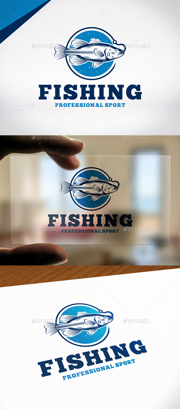 Fishing Sport Logo Template - Animals Logo Templates