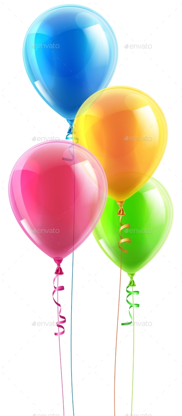 Birthday Party Balloon Set - Birthdays Seasons/Holidays