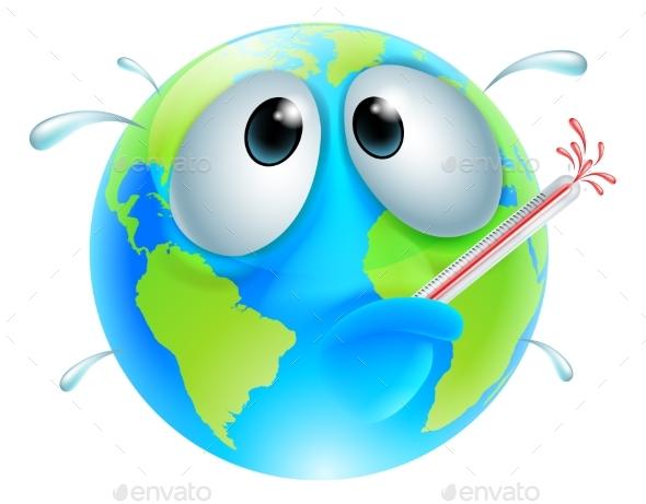 Poorly Globe Concept - Health/Medicine Conceptual